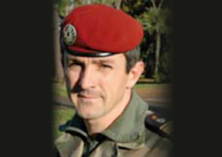Lieutenant-Colonel Cyril Barth
